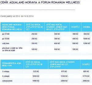 cenik-aqualand-moravia-pasohlavky