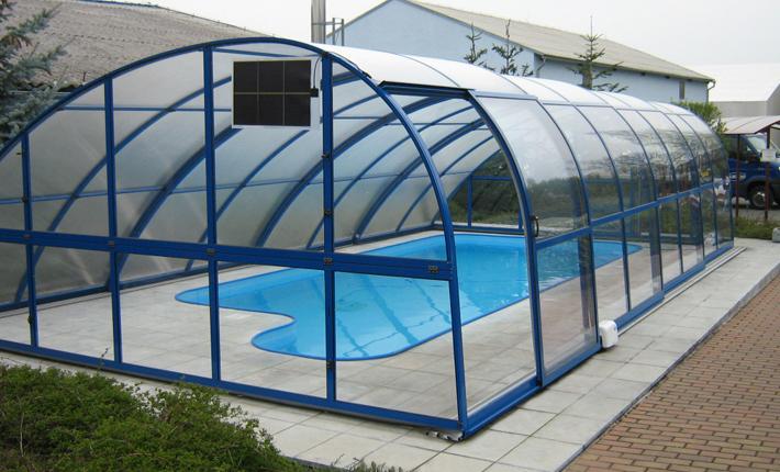 Zastřešení bazénu od Albixon