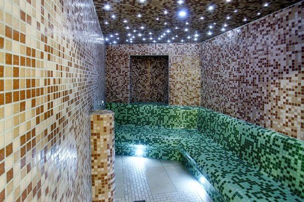 Parní sauna v hotelu Studánka od FinskeSauny.cz
