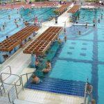 Bazén v termálních lázních Harkány